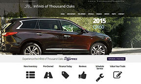 Infiniti Car Dealer Websites