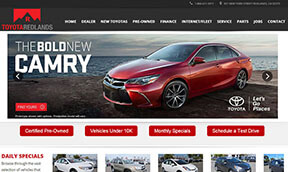 Toyota Dealer Websites